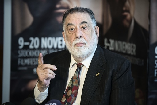 American film director Francis Ford Coppola