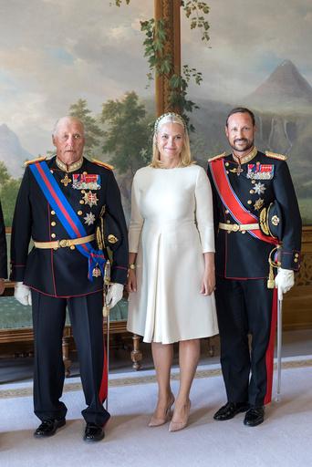 Slovakias president H.E. Andrej Kiskas på statsbesøk i Norge