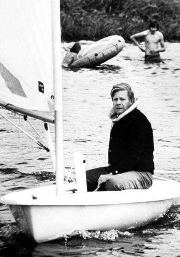 German Chancellor Helmut Schmidt