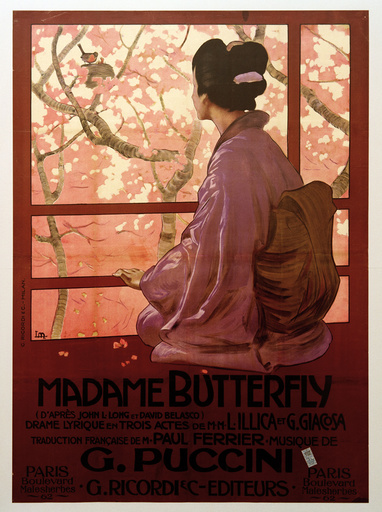 Puccini, Madame Butterfly / Poster