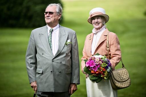 Dronningen besøger Næstved, Prins Henrik