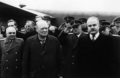 Churchill in Moskau 1944 - Churchill in Moskow 1944 -