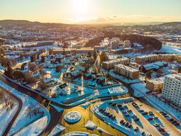 Bydel Stovner har det høyeste smittetrykket i Oslo. Foto: Stian Lysberg Solum / NTB