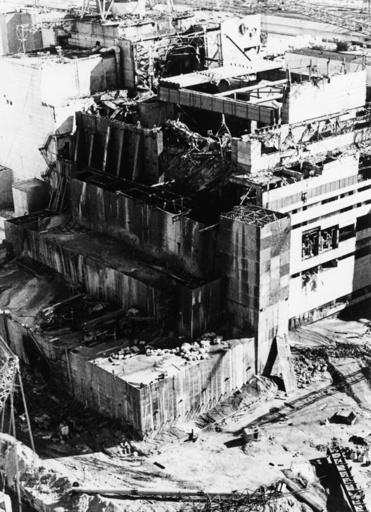 Kernreaktorkatastrophe/Tschernobyl/1986 - Nuclear catastrophe / Chernobyl / 1986 - Union soviétique / Catastrophe nucléaire dans la centrale at