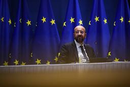 EU-president Charles Michel er glad for at Donald Trump erstattes av Joe Biden. Foto: Francisco Seco / AP / NTB
