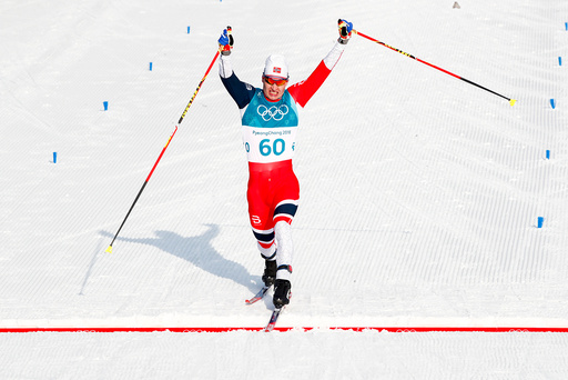 Vinter-OL. Olympiske leker i Pyeongchang 2018. Langrenn menn.