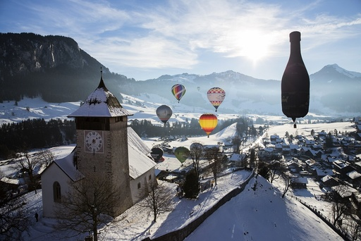 38th International Balloon Festival of Chateau-d'oex