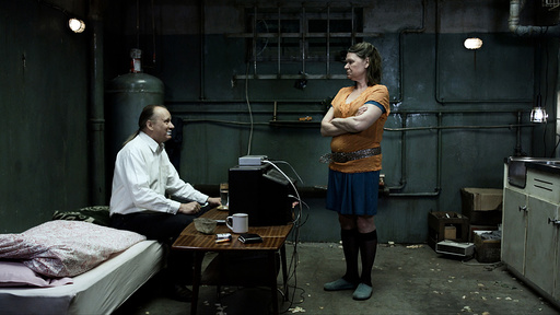 A SOMEWHAT GENTLE MAN, (aka EN GANSKE SNILL MANN), from left: Stellan Skarsgard, Jorunn Kjellsby, 20