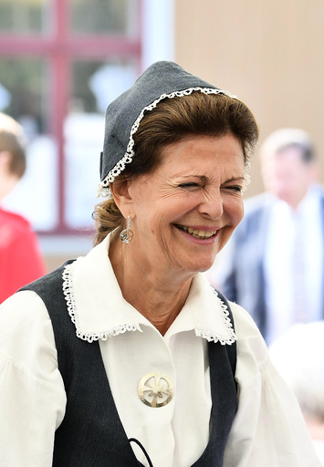 Pensioner's Day at Ekebyhov Palace Park, Stockholm, Sweden, 2018-08-27