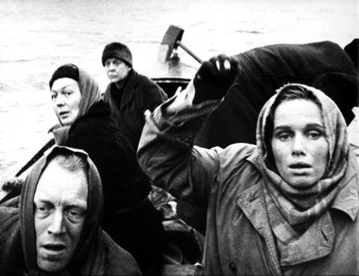 SHAME, (aka SKAMMEN) Max Von Sydow, Liv Ullmann,  1968