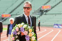 Steinar Hoen, stevnedirektør for Bislett Games sier at det ikke blir noe friidrettsstevne 10. juni som planlagt, men at stevnet må flyttes. Foto: Berit Roald / NTB