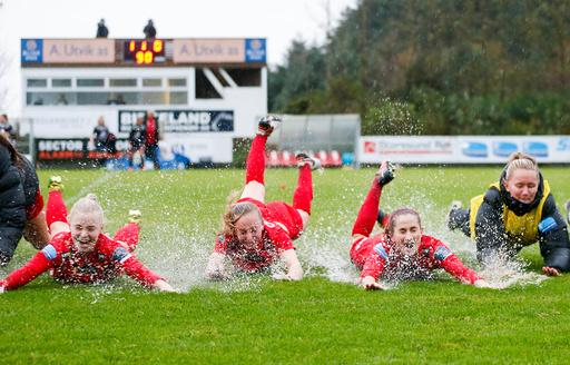 Semifinale i NM-cupen fotball kvinner 2017: Avaldsnes - Arna-Bjørnar (1-0).