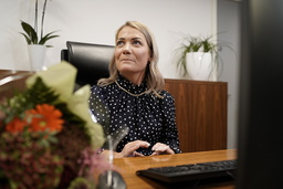 Sandra Borch (Sp) er ny landbruksminister i Støre-regjeringen. Foto: Cornelius Poppe / NTB