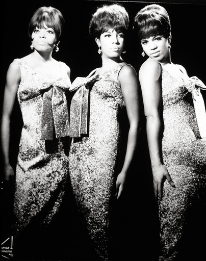 American female singing group, The Supremes. Diana Ross, Florence Ballard and Mary Wilson.
