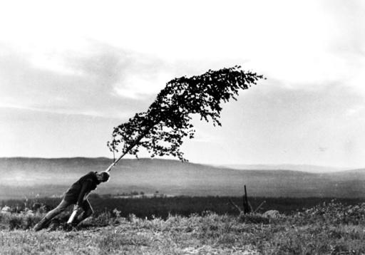 THE VIRGIN SPRING, (aka JUNGFRUKALLAN), Max Von Sydow, 1960.