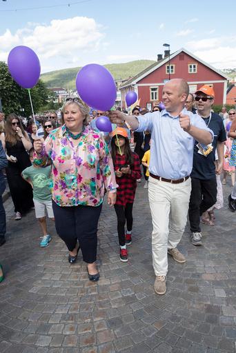 Kongsberg Erna Solberg