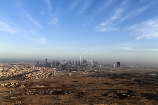 Burj Khalifa, the world's tallest tower, is seen in a general view of Dubai