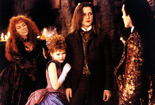 INTERVIEW WITH THE VAMPIRE, Kirsten Dunst, Brad Pitt, Antonio Banderas, 1994, (c) Warner Brothers/co