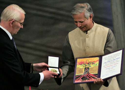 NORWAY-NOBE PEACE PRIZE-YUNUS