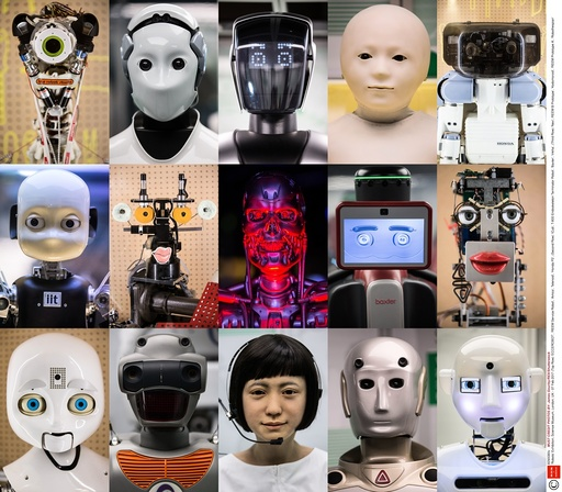 'Robots' Exhibition, Science Museum, London, UK - 07 Feb 2017
