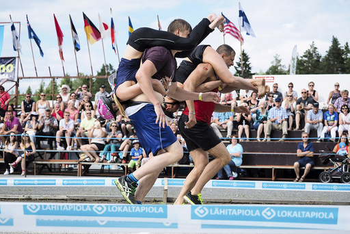 The Wife Carrying World Championships 2016