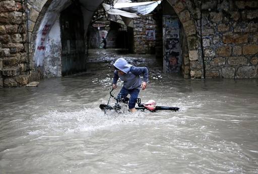 Flood in Hebron