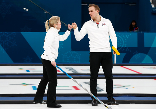 Vinter-OL. Olympiske leker i Pyeongchang 2018. Curling Mixed