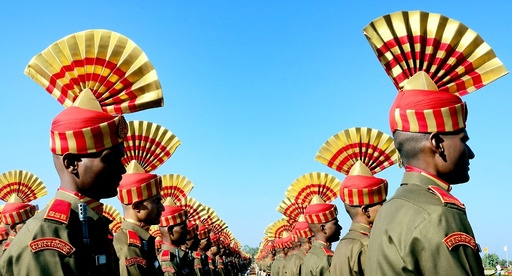 Sashastra Seema Bal (SSB) passing out prade