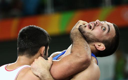 Wrestling - Men's Greco-Roman 75 kg Repechage Round 2