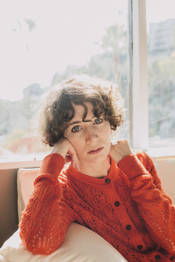 "Miranda July, the artist, playwright, film-maker and âä"" now âä"" novelist, at home in Los Angeles."
