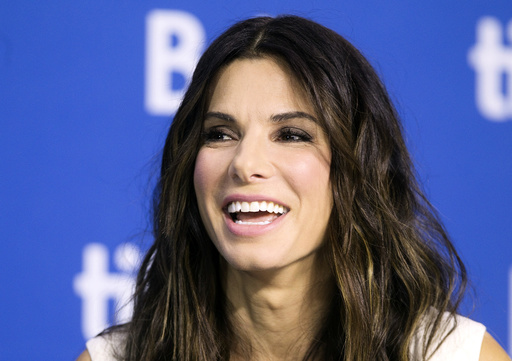 Actress Sandra Bullock attends a news conference for the film