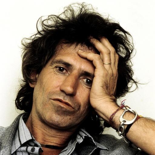 Keith Richards. Engelsk musiker, gitarist og låtskriver i The Rolling Stones. New York.