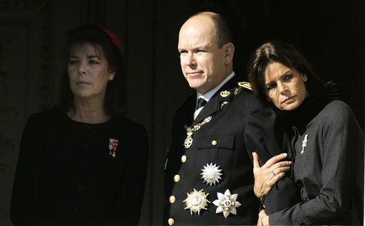 Prince Albert II of Monaco, Princess Caroline of Hanover, Princess Stephanie of Monaco