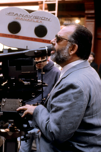 THE GODFATHER: PART III, director Francis Ford Coppola, on set, 1990. ©Paramount/courtesy Everett Co