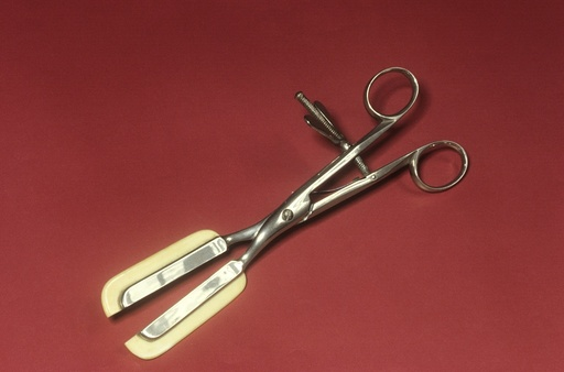 Haemorrhoid forceps, circa 1860