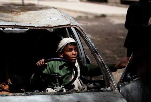 The Wider Image: Yemen orphanage braves nearby air strikes