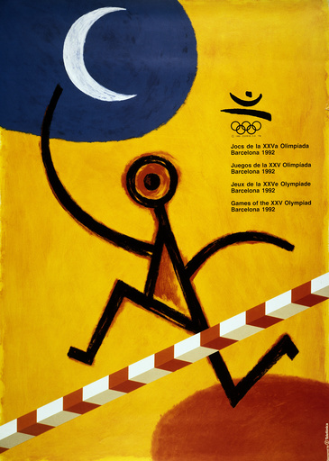 Sommerolympiade 1992, Barcelona/Plakat - 1992 Summer Olympics, Barcelona / Poster -