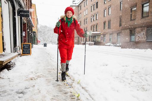 Snøvær i Oslo