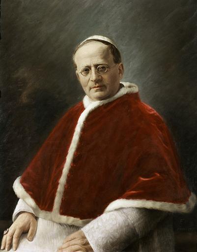 Pius XI (Pio XI), pope from 1922 to 1939. Madrid, Nunciature.