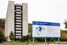 Flere koronasmittet ved Drammen sykehus i Viken. Foto: Geir Olsen / NTB