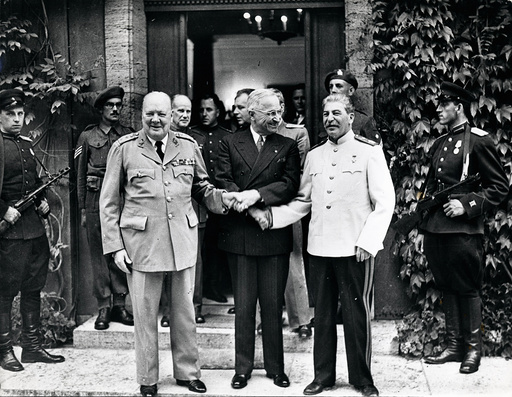 'The Big Three' Allies of World War Two 1939 - 1945