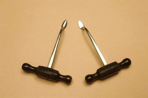 Two dental levers, circa 1890