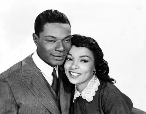 ST. LOUIS BLUES, Nat King Cole, Ruby Dee, 1957