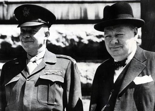 United States President Dwight D. Eisenhower 1890 - 1969