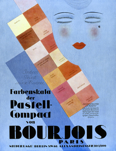 Poster design for Bourjois cosmetics