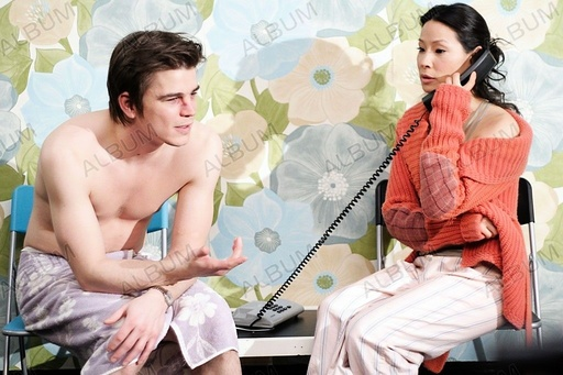 LUCKY NUMBER SLEVIN (2006), directed by PAUL MCGUIGAN. LUCY LIU; JOSH HARTNETT.