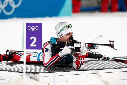 Vinter-OL. Olympiske leker i Pyeongchang 2018. Skiskyting herrer.