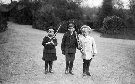 Prince George of Wales, Prince Olaf and Prince John