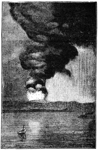 Eruption of Krakatoa, 1883
