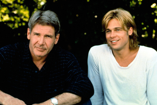 THE DEVIL'S OWN, Harrison Ford, Brad Pitt, 1997